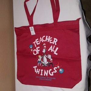 TEACHER OF ALL THINGS TOTE